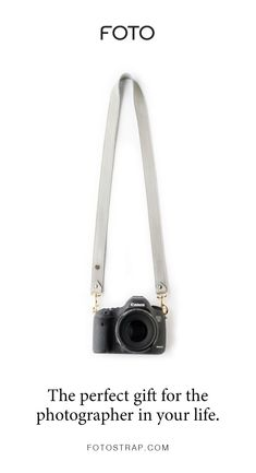 FOTO's dove grey genuine all-leather designer camera strap can be personalized with a monogram or business logo, making this leather camera strap the perfect personalized gift. Leather Camera Strap, Camera Straps, Personalized Products, Personalized Gifts, Foto Canon, How To Make Camera, Gifts For Photographers, Camera Gear, Business Logo