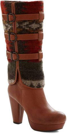 ~~Downtown and Country Boot ~ Modcloth~~