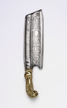 1702 German Barrel-maker's knife at the Victoria and Albert Museum, London