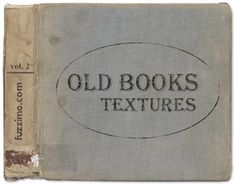 Here's part 2 for those old book textures. Again cool worn out vintage library book covers and pages at high resolutions (3000-5000px).