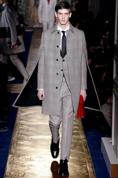 I need a cape and matching suit just, like, this... but without Valentino's price tag. A matching 'Valentino red' bag would be nice too!