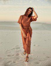 Kimono Sleeve jumpsuit by Burda Style