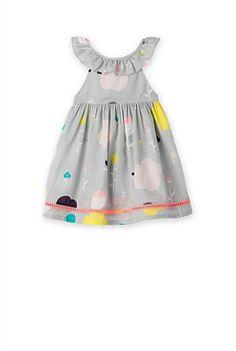 Fluro Trim Dress