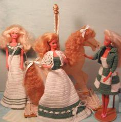 Crochet mode poupée Barbie patron  208 par JudysDollPatterns