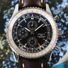 Breitling Navitimer 1461 Perpetual Calendar Chronograph LTD ED 2015 Full Set Breitling Navitimer, Breitling Watches, Perpetual Calendar, Vintage Diamond, Full Set, Watch Brands, Mens Clothing Styles, Blue Gold