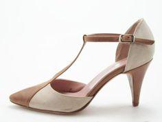 two-tone summer shoe