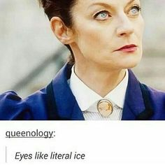 Ivy L: I actually met Michelle Gomez in an elevator at comic con Fan Expo Dallas, and she actually looked me right in the eyes when I talked to her, so I can definitely confirm this! Michelle Gomez #doctorwho #michellegomez #missy