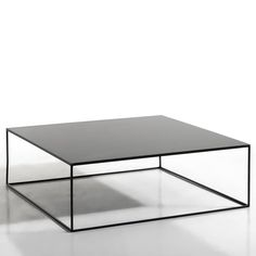 Romy Square Metal Coffee Table AM. The finesse of the leg frame gives this coffee table a sleek, graphic look which will fit seamlessly into any interior.Features: In epoxy finish.
