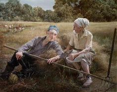 Yuri Krapol pintor ucraniano.-