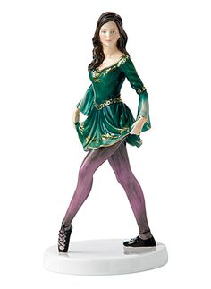 Royal Doulton Irish Celtic Dance.  I love my Royal Doulton china and I absolutely LOVE this figurine!