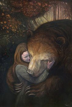 "Shaun Tan ""Tender Morsels"" RARE Giclee Snow White Rose Red Bear | eBay"