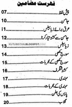 Index of Jari Boti Luqmani