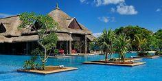 Pool of The Westin Turtle Bay Resort & Spa, Mauritius ✯ ωнιмѕу ѕαη∂у Dream Vacation Spots, Vacation Places, Vacation Destinations, Dream Vacations, Places To Travel, Honeymoon Spots, Romantic Vacations, Romantic Travel, Amazing Swimming Pools