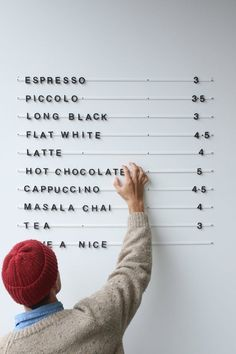 restaurant wall George and Willy Baker Menu - BLAC - Coffee Shop Menu, Coffee Shop Design, Cafe Interior Design, Cafe Design, Menu Restaurant, Restaurant Design, Bakers Menu, Cafe Menu Boards, Foodtrucks Ideas