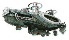 Final Fantasy 12 The Airship Catoblepas