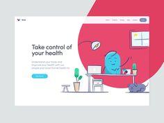 Thriva Web design by Joe Furr #Design Popular #Dribbble #shots