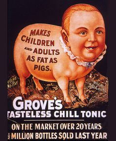 ... fat as pigs! (1900)
