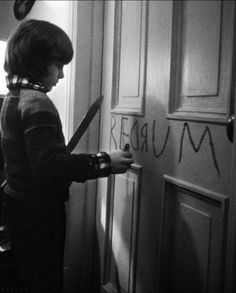 Danny. Writing the future. Backwards. The Shining. '80.