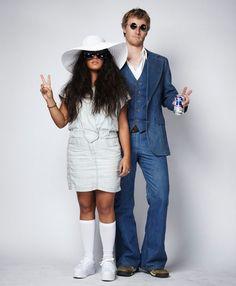 John Lennon and Yoko Ono Couples Costume