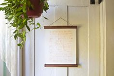 Wooden Poster Hanger Magnetic Walnut Print Photo by whiskyginger Hanging Picture Frames, Hanging Pictures, Frames On Wall, Wooden Frames, Poster Frames, Artwork Prints, Wall Prints, Canvas Frame, Canvas Wall Art