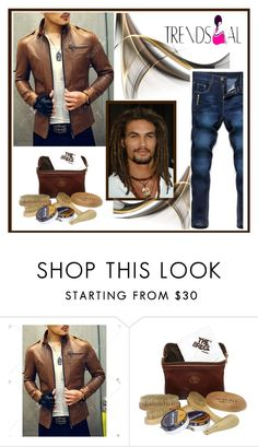 """""""Man"""" by mujkic-merima ❤ liked on Polyvore featuring The Bridge, men's fashion and menswear"""