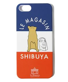 SHIBUYA Adam et Rope 'Le Magasin of (Adam et Rope Maga Le Giang) IPHONE5 case (other goods) | Black