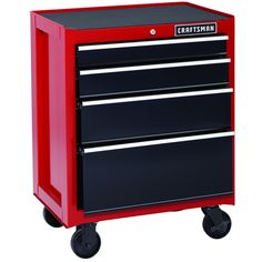 Craftsman 26 In 6 Drawer Heavy Duty Ball Bearing Top