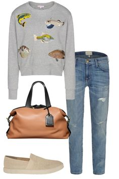 I'm inexplicably in love with this fish sweater.  Summer Vacation Packing List by Destination - What to Pack for the City, Shore and Great Outdoors - Harper's BAZAAR