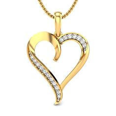 It's good to be emotional sometimes; who says a man can't be emotional. Draw your feelings out and say you love her. Do it in style, do it with a lovely gift. Let the gift be a heart shaped diamond pendant. Make life simple for both of you. #ValentineJewellery #DiamondPendant #LovelyJewellery #Sweetheart #PrettyJewellery #HeartPendant #LovePendant #ProposalPendant