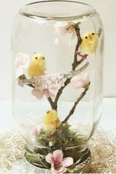 Mason Jar Project - This Spring project is so fun for the whole family. It is easy and cute and you'll love decorating the mason jar.