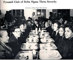 DST Pledges @Tammy Tarng Tarng Tarng Sue 1955, Tennessee State University.