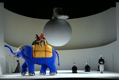 Tamerlano from Teatro Real 2008. Production by Graham Vick. Sets and costumes by Richard Hudson.