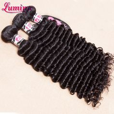 2 Deep Wave Brazilian Hair, Brazilian Curly Hair, Brazillian Curly Weave, Curly Weaves, Deep Curly, Queen Hair, Virgin Hair, Weave Hairstyles