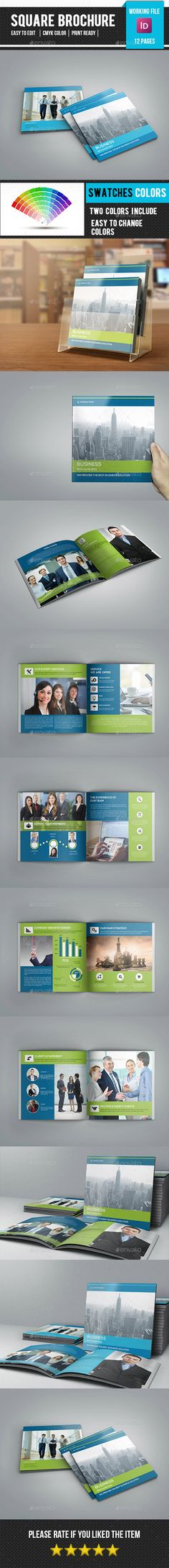 Corporate Brochure is for corporate and related industry. Comes with elegant, modern and clean design. Photo are not included,down