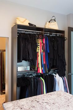 West Kelowna Walk-In Renovation - transitional - Closet - Other Metro - STOR-X Organizing Systems, Kelowna