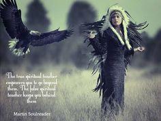 The True Spiritual leader empowers you to go beyond them. The false Spiritual leader keeps you behind them.
