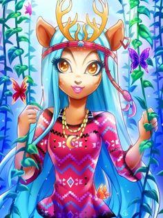 Isi Dawndancer Monster High/Изи Даундэнсер Монстер Хай купить куклу, Иси Даундэнсер недорого Украина магазин Куколки