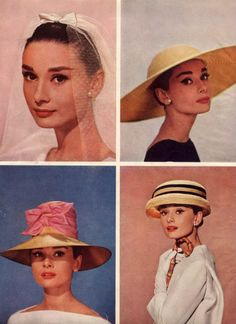 Audrey Hepburn photographed by Richard Avedon for Cosmopolitan, February 1957
