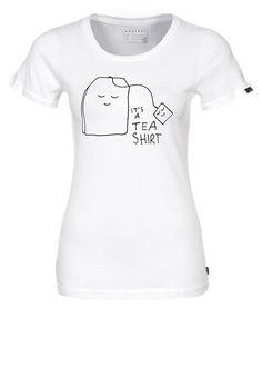 Das niedlichste Tea-Shirt, was wir je gesehen haben! Forvert COLUMBIA - T-Shirt print - white für 29,95 € (27.09.16) versandkostenfrei bei Zalando bestellen. https://www.zalando.de/forvert-columbia-t-shirt-print-white-fo521d003-a11.html