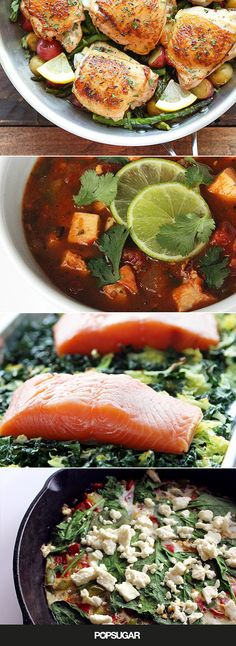 Here's a collection of healthy one-pot meals for easy, low-calorie cooking. Your weeknights just got 10x easier.