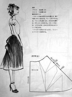 Japanese Sewing Patterns, Skirt Patterns Sewing, Clothing Patterns, Tailoring Techniques, Techniques Couture, Diy Maxi Skirt, Skirt Outfits Modest, Pattern Draping, Sewing Alterations