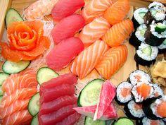 Sushi!! una delle meraviglie del mondo..
