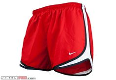Nike Womens Tempo Shorts - Sport Red with Black and White...$28.79