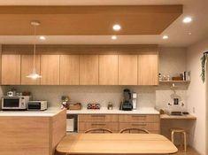 優しい色合いで統一されたキッチン
