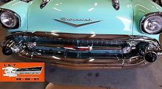 1957 chevy hood bar + extensions set #chrome made in usa belair #nomad #sedan wag,  View more on the LINK: http://www.zeppy.io/product/gb/2/252205240287/