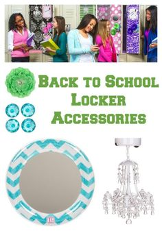 Back to School Locker Accessories are all the rage! Bring some bling to school lockers for creative fun! This will keep them organized without them even knowing!