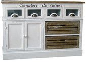 white and brown Alsace, Sideboard, Buffet, Cabinet, Storage, House, Furniture, Home Decor, Kitchens