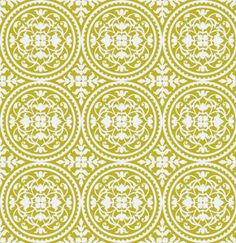 Joel Dewberry True Colors Fabric Scrollwork in by chitchatfabrics