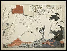 Shunga – Utamaro – The Laughing Drinker – Private Moment – c.1803.