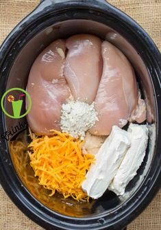 This Slow Cooker Chicken Bacon Ranch Sandwiches is extremely carriageable. ~ Click the pin to see more ~ Slow Cooker Recipes Easy Crockpot Dishes, Crock Pot Slow Cooker, Crock Pot Cooking, Cooking Recipes, Easy Crockpot Recipes, Cooking Tips, Slow Cooker Dinners, Crock Pot Dinners, Slow Cooker Keto Recipes